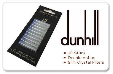 Dunhill Slim Crystal Filter