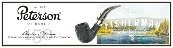 Peterson 150th Anniversary Pipe