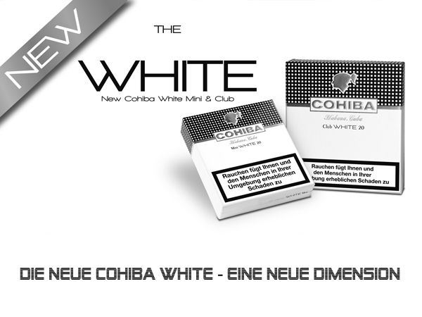 cohiba mini white cohiba pfeifenstudio m hlhausen. Black Bedroom Furniture Sets. Home Design Ideas