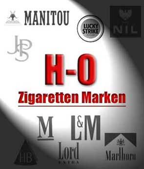 H - O, Zigaretten Marken