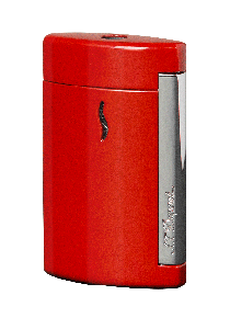 S.T. Dupont Feuerzeug Mini Jet Red Lacquered