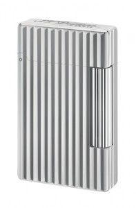 S.T. Dupont Feuerzeug Initial Ligne mit weißem Bronzefinish