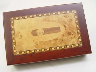 Humidor Intarsien Zigarre