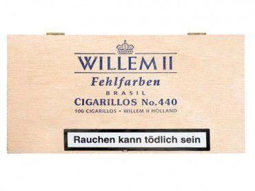Willem II Fehlfarben No.440 Brasil / 100er Kiste