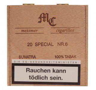 Messmer Collection Special Sumatra No. 6 / 20er Packung