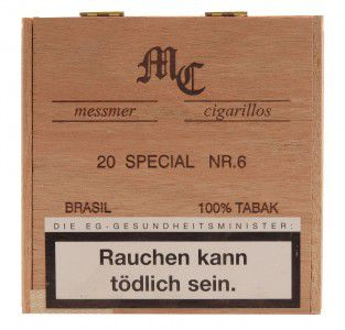 Messmer Collection Special Brasil No. 6 / 20er Packung