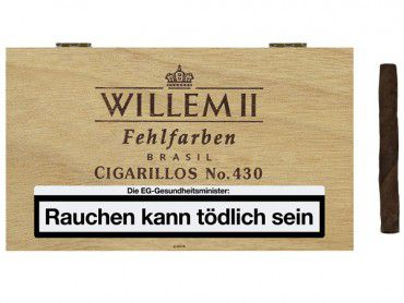 Willem II Fehlfarben No.430 Brasil / 100er Kiste