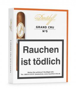Davidoff Grand Cru No.5 / 5er Packung
