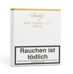 Davidoff Mini Cigarillos Gold / 20er Packung