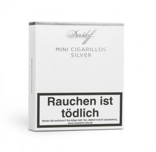 Davidoff Mini Silver Cigarillos / 20er Packung