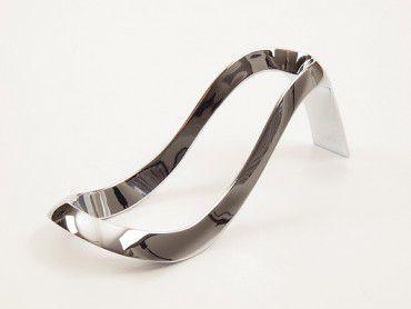 Pfeifenständer Metall chrom glänzend