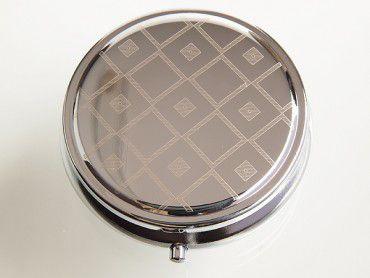Taschenascher Laserart chrom poliert #2