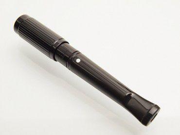 Dunhill Zigarettenspitze Kurz schwarz mit Streifen