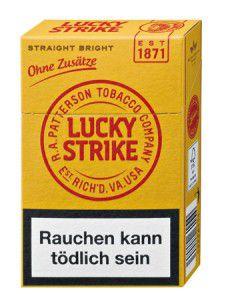 Lucky Strike Straight Bright Zigaretten