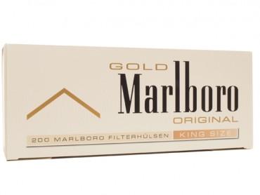 Marlboro Gold Zigarettenhülsen