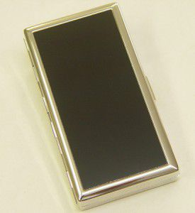 Pearl Zigarettenetui Lack schwarz 12er