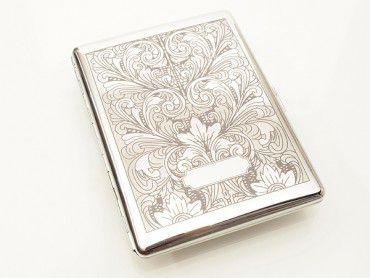 Pearl Zigarettenetui Arabesk Ornament 9er