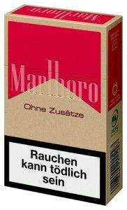 Marlboro Red ohne Zusätze Zigaretten