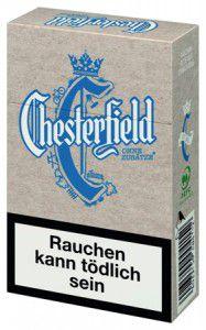Chesterfield Blue ohne Zusätze Zigaretten