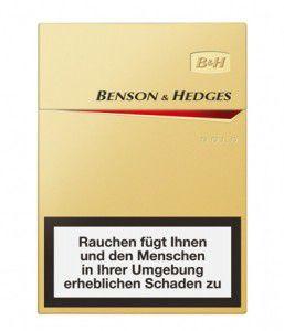 Benson & Hedges Gold Big Pack XL Zigaretten