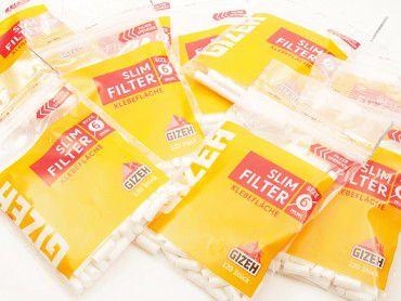 20x Gizeh Slim Filter / 120 Stück