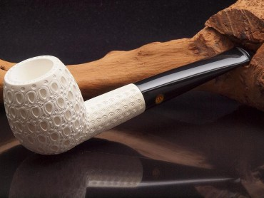 Altinay Meerschaumpfeife Medium graviert Apple