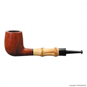 Tsuge Pfeife Bamboo Straight Smooth