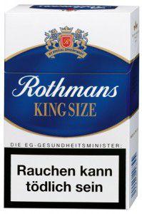 Rothmans King Size Zigaretten