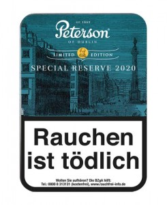 Peterson Special Reserve 2020 / 100g Dose