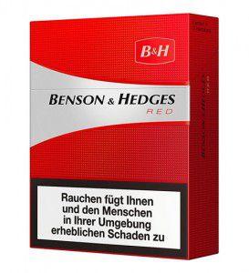 Benson & Hedges Red Big Pack XL Zigaretten