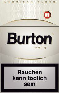Burton White Zigaretten