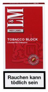 L&M Tobacco Block Red / 2x21g Block