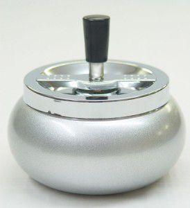 Drehascher silber metallic