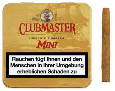 Clubmaster Cigarillos Superior Sumatra Mini