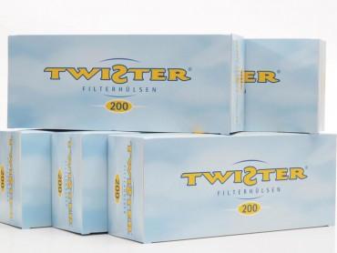 5x Twister Zigarettenhülsen