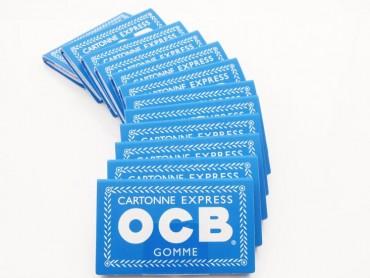 12x OCB blau Gummi Zigarettenpapier