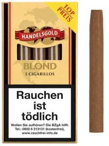 Handelsgold Cigarillos Blond