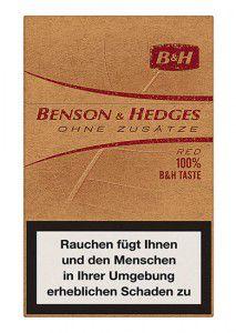 Benson & Hedges ohne Zusätze Zigaretten