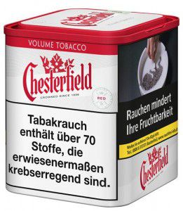Chesterfield Red Volume Tabak / 50g Dose