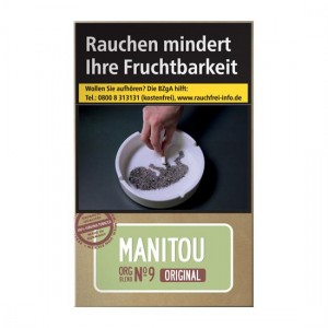 Manitou Organic Green Zigaretten