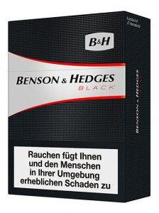 Benson & Hedges Black Maxi Pack Zigaretten