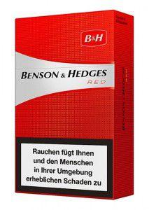 Benson & Hedges Red Zigaretten