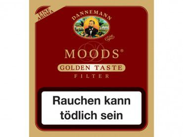 Dannemann Moods Golden Taste Filter / 20er Packung