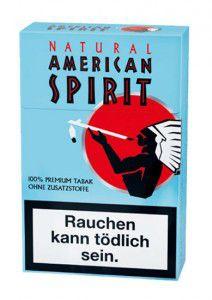 American Spirit blau Zigaretten