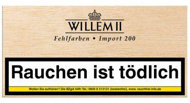 Willem II Import 200 Fehlfarben Sumatra