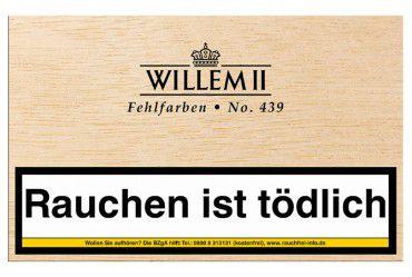 Willem II Fehlfarben No.439 Sumatra / 50er Kiste