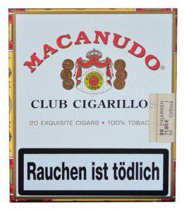 Macanudo Club / 20er Packung