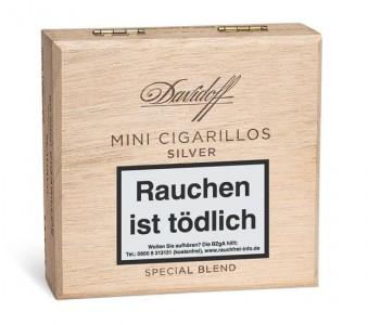 Davidoff Mini Silver Cigarillos / 50er Kiste