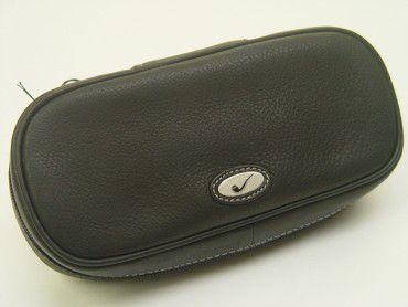 Pfeifentasche Leder schwarz #4