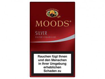 Dannemann Moods Silver / 12er Packung